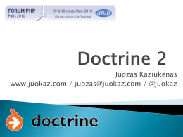 Doctrine 2