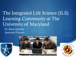 Integrated Life Science (ILS)