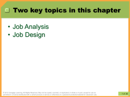 Ch04-Instructor Modified_Job Analysis and Job Design