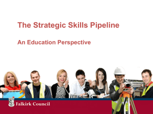 Strategic Skills Pipeline Presentation