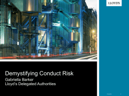 Demystifying Conduct Risk