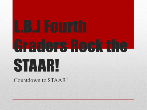 Countdown to STAAR PP