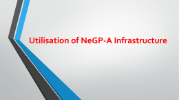 Migration of Central & State Application under NeGP-A
