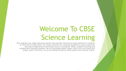 - CBSEScienceLearning.in