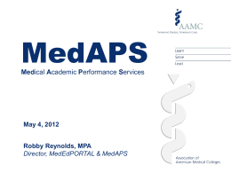 MedAPS: Medical Academic Performance Services