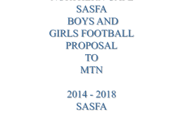 northern cape sasfa boys and girls football proposal to mtn 2014