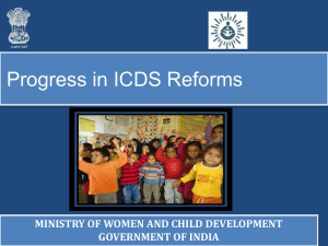 ICDS-new - Ministry of Women and Child Development