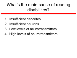 What_s the Main Cause of Reading Disabilities