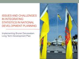 wawasan brunei 2035 outline of strategies and policies for