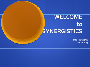 for Synergistics Class - Oak Lawn