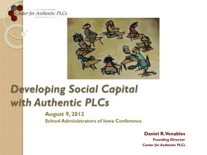 Presentation PPT - School Administrators of Iowa