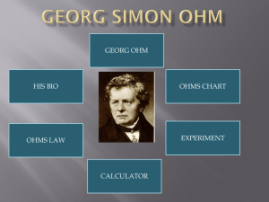 ohm powerpoint