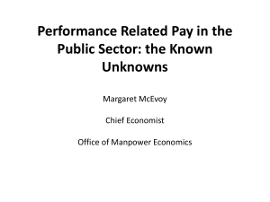 McEvoy PRP in the Public Sector NIESR 260614