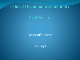 ethical_dilemma_in_community_health_care