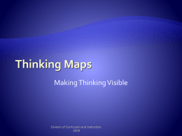 Elementary Examples of Thinking Maps - POES-PDS