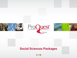 Political Science Package
