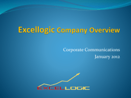 Excellogic Company Overview