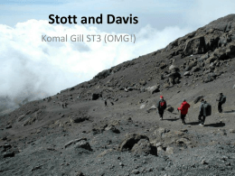 Stott & Davis - East Sussex VTS