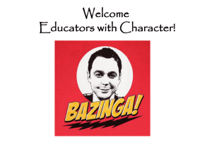 What is Character Education?