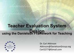 Danielson Presentation 5/30/12 Symposium