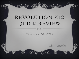 Rev K12 Review