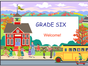 reading - Mrs. Singleton`s Website - Grade Six