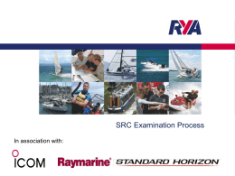 SRC Examination Process In association with