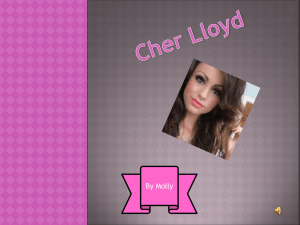 Cher Lloyd - The Ridge ← Primary School