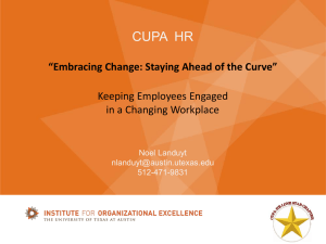 Conference Presentation - CUPA