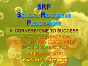 srp school readiness programme