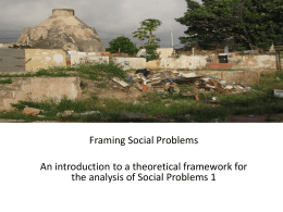 social problems 1 - analyzingsocialproblems