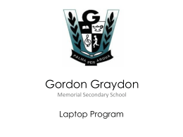 Gordon Graydon Memorial Secondary School
