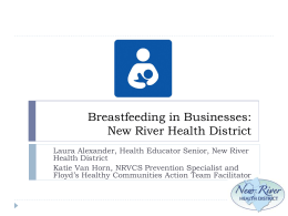 Breastfeeding Presentation Title