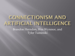 Connectionism and Artificial Intelligence