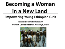 Becoming a Woman in a New Land