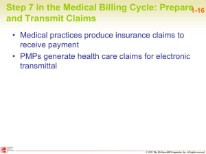 Step 7 in the Medical Billing Cycle: Prepare and Transmit Claims