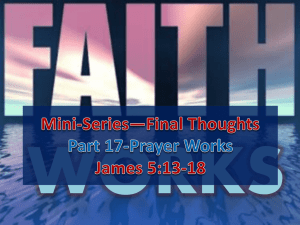 Part 17-Prayer Works | PPT