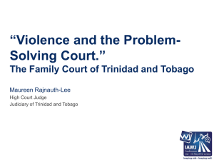 The Family Court of Trinidad and Tobago
