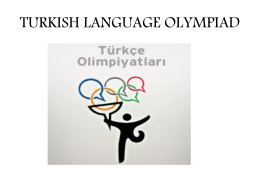 turkish-olympiad-info - Concept Schools Turkish Language