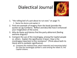 Dialetical Journal - #1 & #2 Catching Fire DJ1and2_2