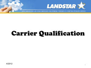 Capacity Qualifications