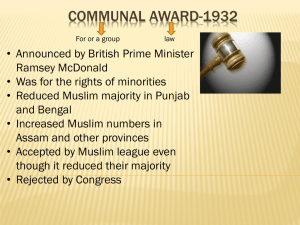 Communal award-1932-G7-Pakistan Studies