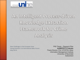 An Intelligence Proccess-driven Knowledge Extraction Framework for