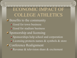College & Amateur Sports