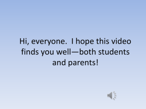 Hi, everyone. I hope this video finds you well*both students and