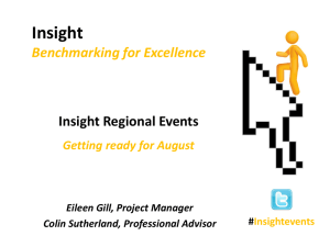 Insight presentation regional events spring 2014 cs
