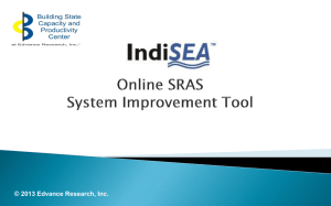 IndiSEA Online System Improvement Tool