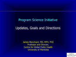 Program Science Initiative
