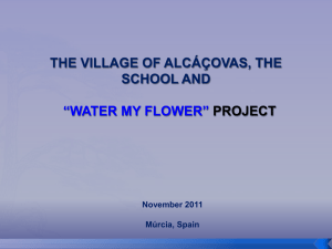 Diapositivo 1 - Water my flower