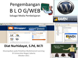 Materi Blog - WordPress.com